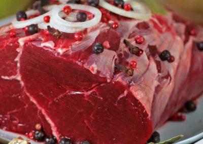 Uležano meso za steake